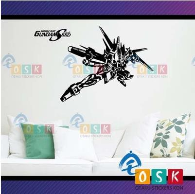 Pegatina Anime Cartoon Car Sticker SEED Freedom Alie Strike GUNDAM Vinyl Wall Stickers Decal Decor Home