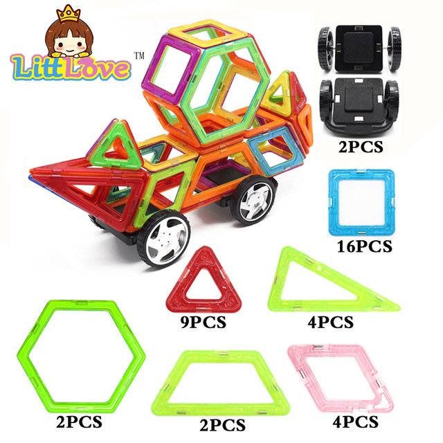 Big Magnetic Designer Educational Building Blocks ...