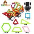 Gran diseñador magnética bloques de construcción educativa 39 unids/set ciudad crear series plástico ensamblar ladrillos enlighten para regalos de los niños