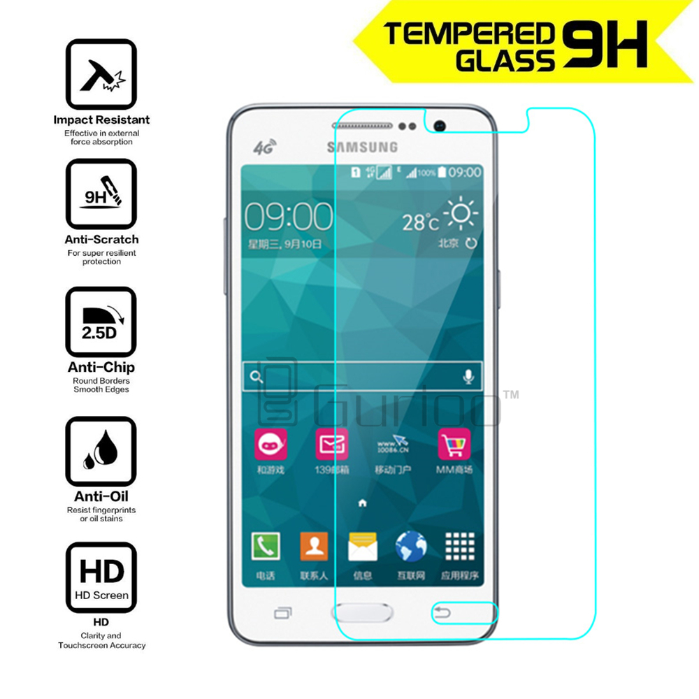 For Samsung GALAXY Grand Prime Tempered Glass Screen Protector 0.26mm 2.5 9h Safety Protective Film On G530 G530F G530H G531H
