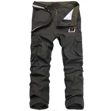 High Quality Cotton Men Casual Straight Pants Army Military Pants Plus Size 30-44 Men Cargo Pants Army Pant