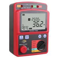 Wisdom GM3123 digital high voltage megohmmeter Digital megohmmeter Insulation resistance tester 2500V