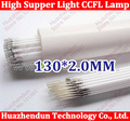 5pcs/lot Free Shipping CCFL 130mm LCD LAMPS 130*2.0 MM 13cm 5pcs/lot LCD Backlight Lamp LCD Monitors Hot sale