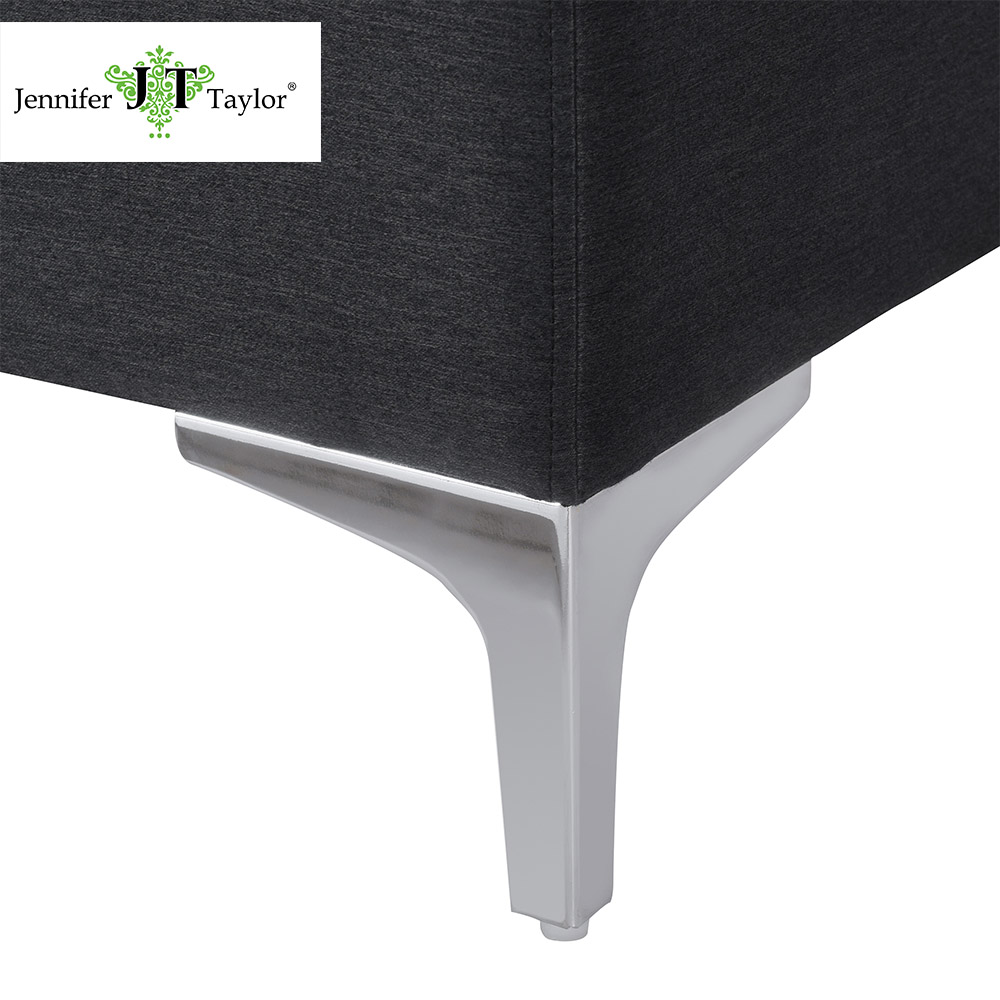 Super Jennifer Taylor Home Serina Storage Bench Dark Grey And Gamerscity Chair Design For Home Gamerscityorg