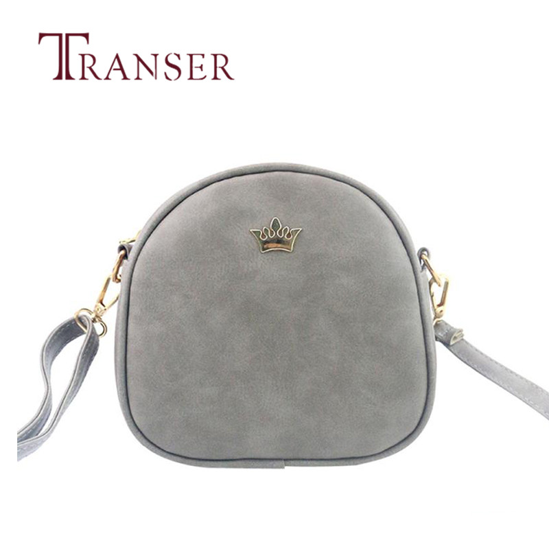 TRANSER Women Fashion Handbag Zipper Bag Shoulder Bag Tote Ladies Purse High Quality Crossbody Female Leather Solid Aug20