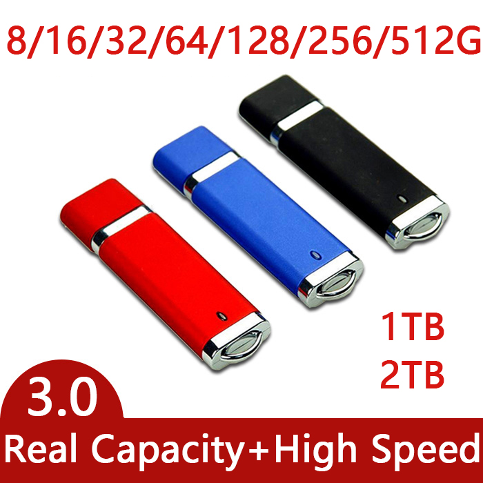Oryginalna High Speed ​​USB 3.0 Flash Drive 1 TB 2 TB Pen Drive 64 GB 128 GB 256 GB Cle USB Stick Key Pendrive 3.0 512 GB Creativo Prezenty