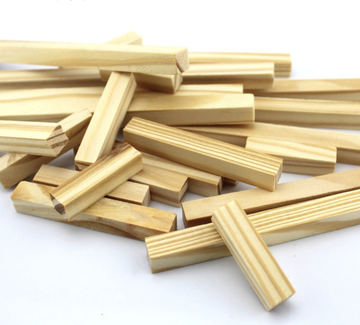20pcs/Lot 1x1x10cm Pine Strip Model Material Manual DIY