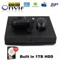 4Channel HDMI Super Mini NVR CCTV Camera H 264 Network Video Recorder Surveillance 4Ch NVR Cloud