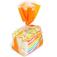 1 PCS Lot New Rare Squishy Jumbo Rainbow Shortcake Slice Super Slow Rising Original Package