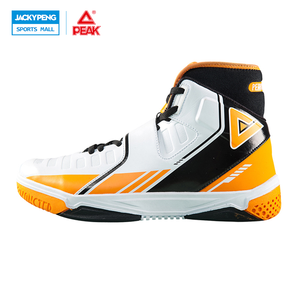 PEAK SPORT Monster 3.3 Men Basketball Shoes FOOTHOLD Tech Breathable Athletic Ankle Boots High-Top Training Sports Sneakers peak sport star series george hill gh3 men basketball shoes athletic cushion 3 non marking tech sneakers eur 40 50
