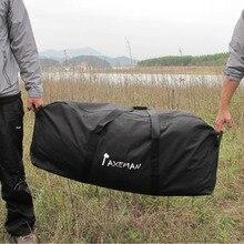 ROCOTACTICAL Portable Seesack Große Kapazität Reisetaschen Auto Eintritt Gepäcktasche Wasserdicht Schwarz 5 Größen