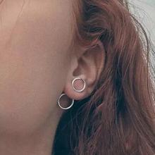 Jisensp, модные простые геометрические круглые серьги для женщин, круглые серьги, минималистичные подарки, brincos, Панк feminina, лучшие подарки