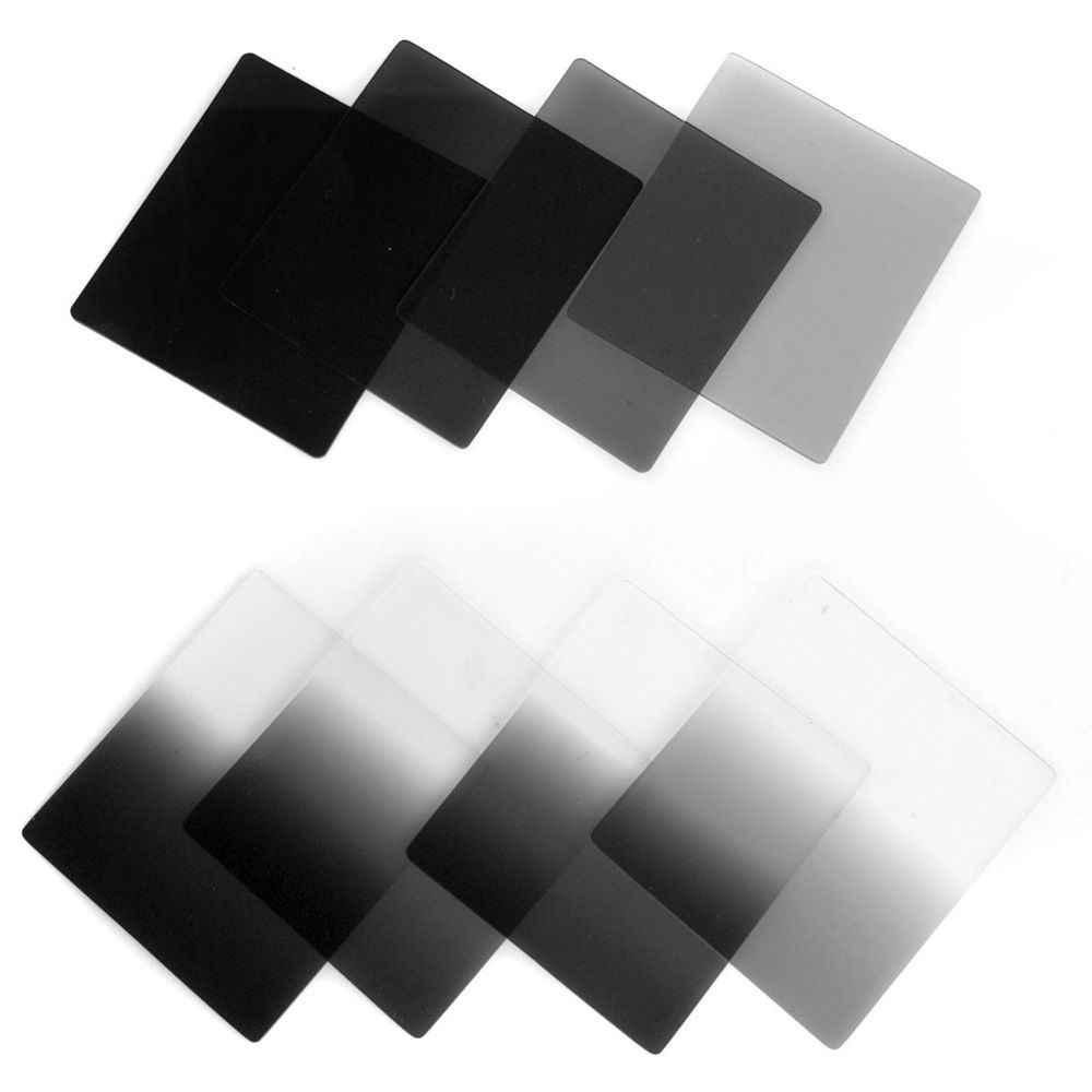Walkingway câmera filtro gradiente nd2 4 8 16 quadrado nd filtro conjunto kit cokin p série filtro titular capa adaptador anéis para dslr