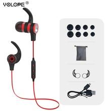 Yolope Hifi Mini Sport Earbuds In-ear Earpieces Headset Auriculares Wireless Headphone Bluetooth Earphones For Phone Kulakl K