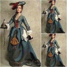 Платье с юбкой в стиле южной Белль, платья в викторианском стиле, платье Скарлетт US6-26 SC-865