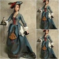 19 Century Civil War Southern Belle Gown Evening Dress Victorian Lolita Dresses Scarlett Dress US6 26