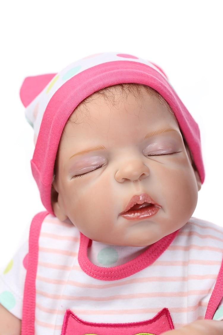 Здесь продается  NPK 55cm Soft silicone reborn baby doll toys play house toys girl doll handmade lifelike fashion gifts for collection  Игрушки и Хобби