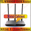 TL-WR890N TP-LINK 450 M Router Wireless Full Metal Corpo 2.4 GHz Wi-Fi Roteador Sem Fio de Alta Velocidade À Internet Desimpedida Através Das Paredes