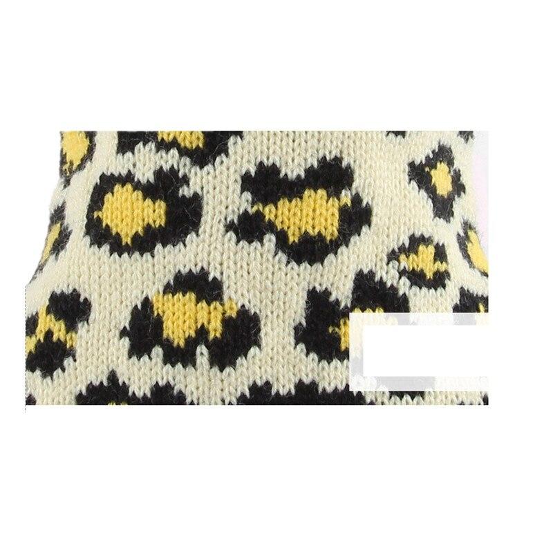 Ropa para perros suéter estampado de leopardo capa Ropa para gatos ...
