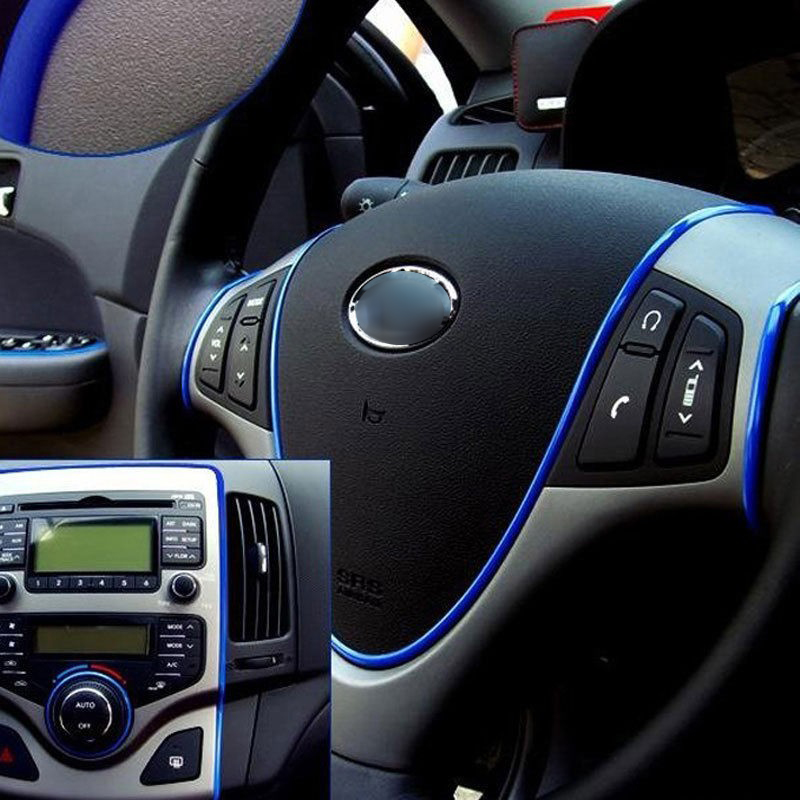 Us 67 5 Mt Auto Stil Flexible Trim Moulding Streifen Dekorative Aufkleber Für Opel Adam Agila Ampera Antara Astra Opc Cascada Corsa Opc Gt In