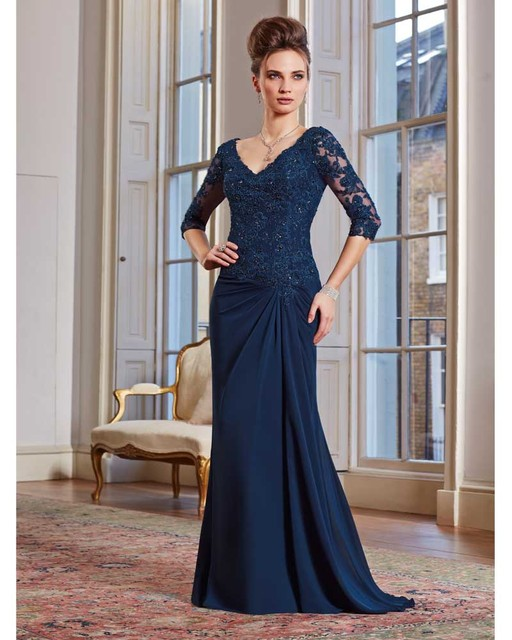 74c126454a4 Chiffon Half Sleeve Mother Of The Bride Dresses Plus Size Godmother Brides  Mother Dress for Weddings