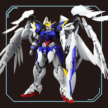 DRAGON_MOMOKO Molder Soul 1:100 MG HIRM Wing Wing Hair Angel Gundam Action Figure Kid Assembled Model Toy Out of Print Rare Spot(China)