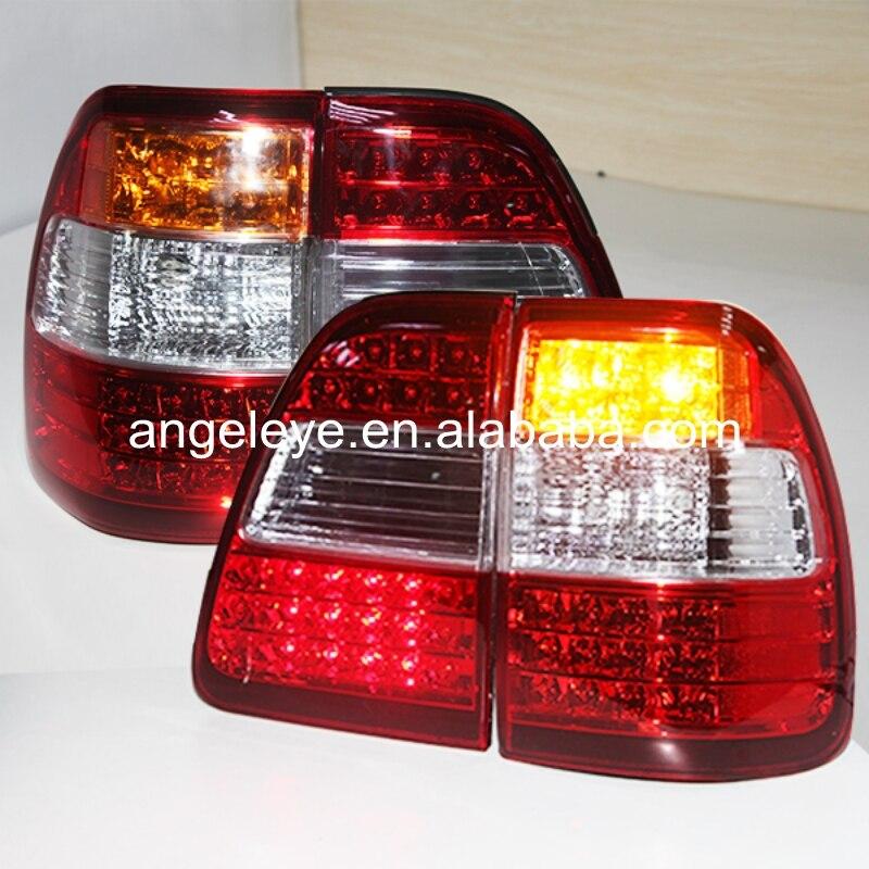 Для Toyota Land Cruiser LC100 FJ100 ledtail лампа красный, белый Цвет 1998 2007 год