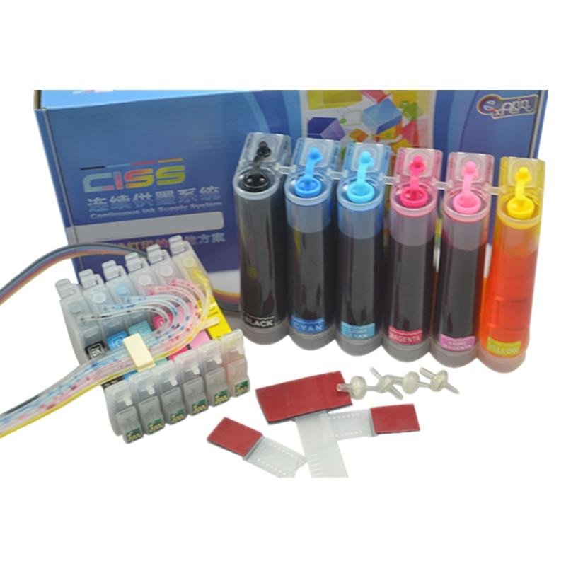 Чернильная система для принтера epson stylus photo R200 R220 R300 R300M R320 R340 RX500 RX600 RX620 RX640