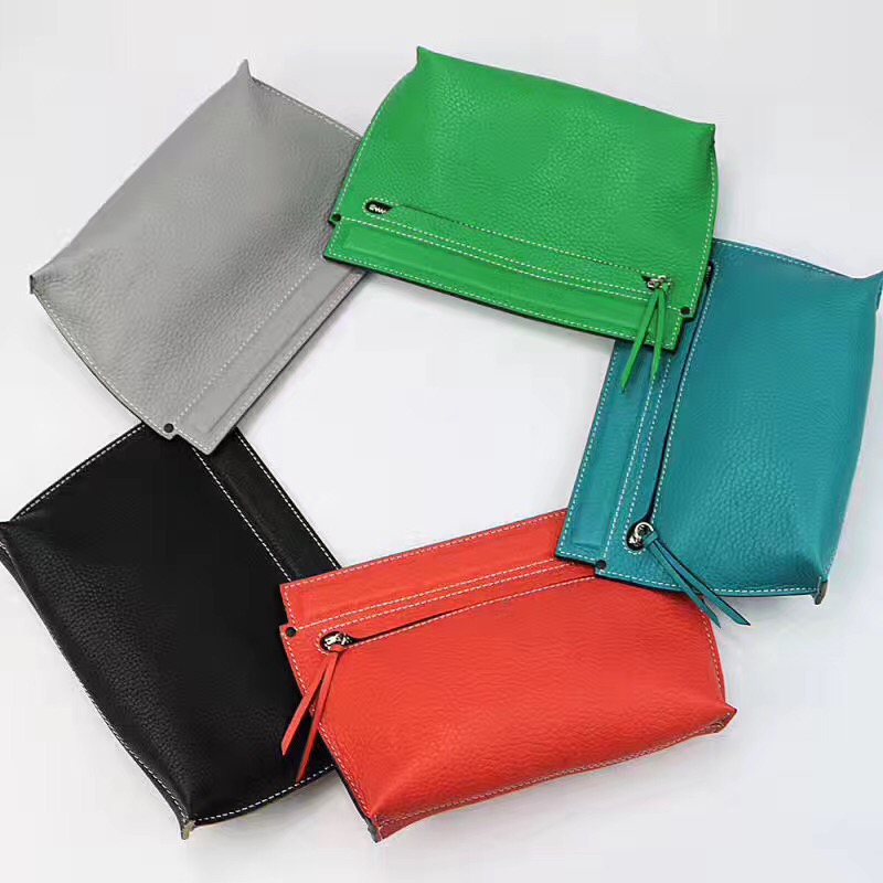 2017 New Fashion Genuine Leather Coin Purse Women Small Wallet Change Purses female Money Bags Key Holder Mini Zipper Pouch