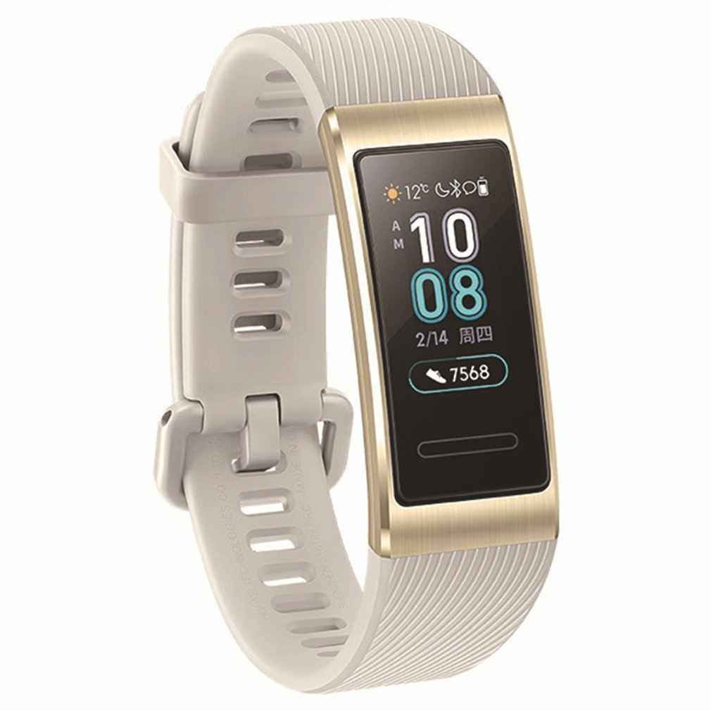 For Huawei Band 3 Pro Built-in GPS Smart Watch AMOLED Touch Screen 50m Waterproof Bracelet Watch