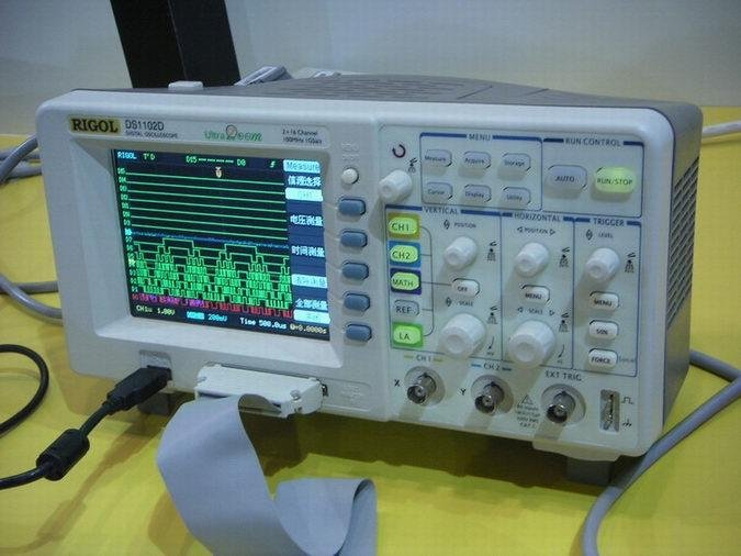 Rigol Oscilloscope 100MHz DS1102D 1G SR logic Analyzer