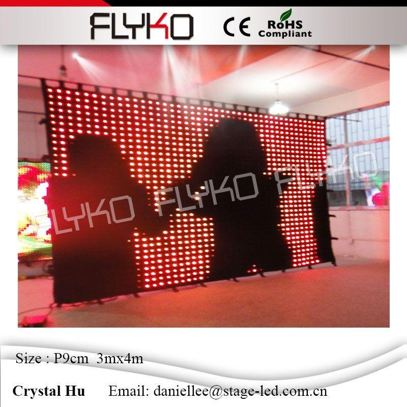 LED video curtain67