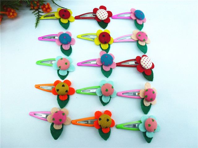 50 pcs(25pairs) assorted Girl cute kid favour Dancing Hair Clips FOR KIDS!!