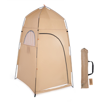 TOMSHOO Portable Outdoor Shower Bath Changing Fitting Room Tent Shelter Camping Beach Privacy Toilet Camping Tent Travel