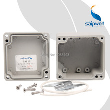 80*76*57mm  Small Waterproof Electric Terminal Aluminum Switch Box / 3.15*3*2.24inch ( SP-AG-FA18)