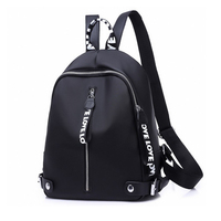 2018 Casual Backpack Women Black Oxford School Bags For Teenagers Girls Waterproof Nylon High Quality Travel