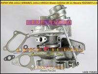 터보 RHF4H VN4 14411 MB40B 14411 MB40B 14411MB40B 닛산 CabStar 2006 11 Navara D22 YD25DDTI DCI 2.5L 110HP|turbocharger holset|turbocharger td04turbocharger cartridge -