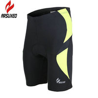 ARSUXEO Summer Men Outdoor Sports Cycling Bicycle Shorts Tights Breathable MTB Road Mountain Bike Cycle Wear Clothing Underwear