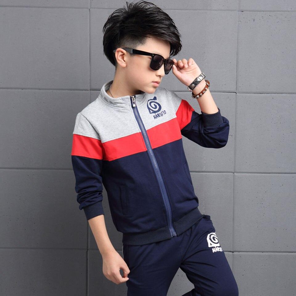 Autumn 2018 Mid Big Children Baby Boy Clothes High Quality