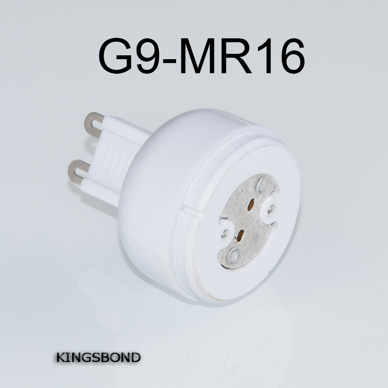 Freeshipping 10pcs/lot portable G9 led lamp base converter light bulb adapter holder G9 to MR16,G4,G5.3,GY6.35,G8 led socket