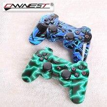 Ownest 2X Новый Стиль Bluetooth 4.0 Беспроводной bluetooth синий зеленый в полоску игры джойстика для Sony play station 3 PS3 контроллер
