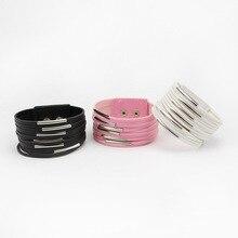 2015 New Arrival Fashion Jewelry Leather Bracelet Bracelets For Women Best Friend Gift Free Shipping
