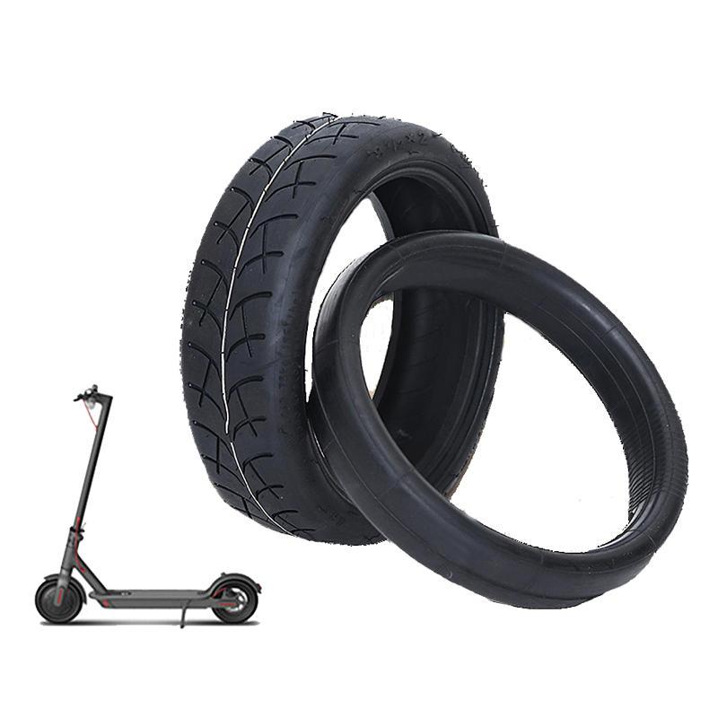 8,5 zoll Roller Reifen für Xiaomi Mijia M365 Elektrische Roller Äußere Reifen 1/2X2 Innenrohr Verdicken Nicht- slip Pneumatische Reifen Sets