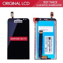 100 Tested Original 5 5 inch 1280x720 Display For ASUS Zenfone Go TV TD LTE ZB551KL