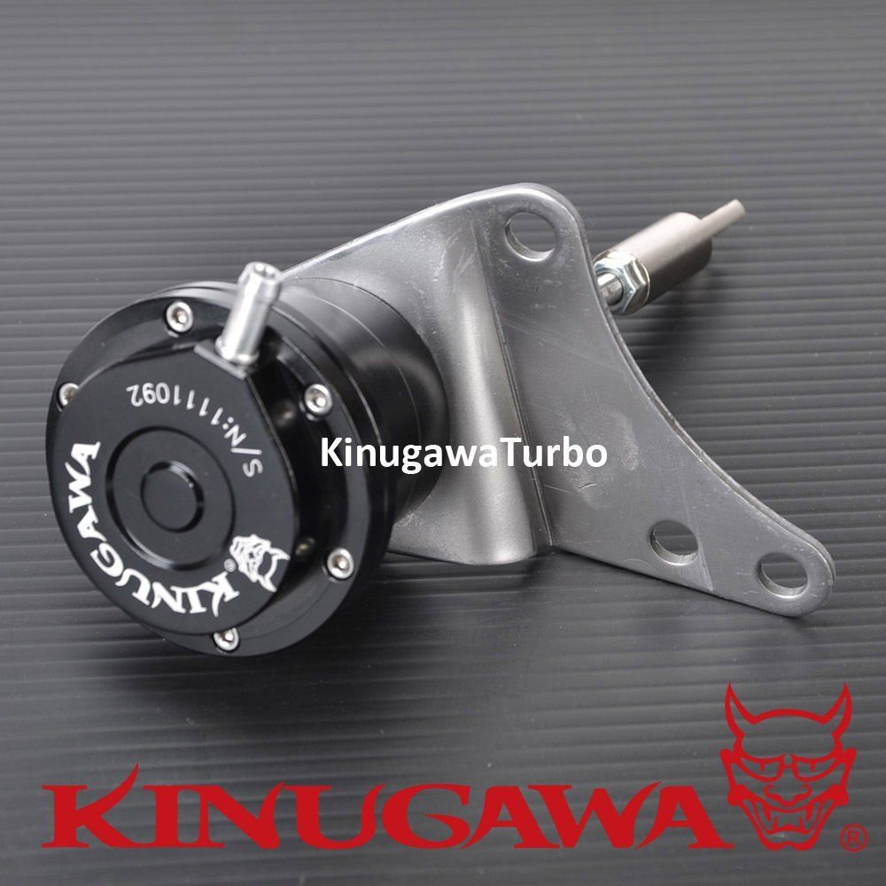 Kinugawa Adjustable Turbo Wastegate Actuator for SUBARU WRX TD05H-18G / for Trust T518Z 1.0 Bar / 14.7 Psi