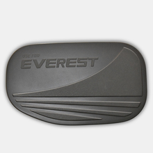 fuel tank cover 1pc high quality black ABS plastic modified protect car accessories decorations for ford everest endeavour