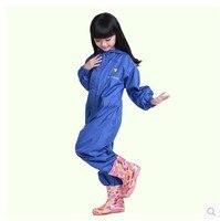 2018 nuovo infant impermeabili Cappotto di Pioggia dei bambini Impermeabile Antipioggia Rainsuit, Capretti Impermeabile Siamesi impermeabile