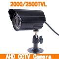 1.0/1.3MP 2000/2500TVL Alta Resolução 24 pcs LEVOU À Prova D' Água Câmera Com Filtro IR-CUT Câmera AHD CCTV