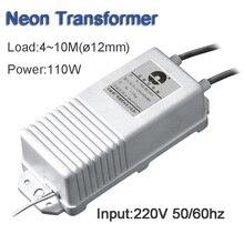 ネオンサイン電子トランス供給電源ネオンライト整流器入力 220V Output10KV30mA 負荷 4 10 メートル 110 ワット送料無料