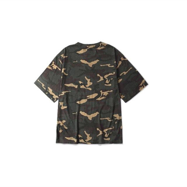 2020 Camo Mens T-Shirt Military Camouflage  Hip Hop Man Short Sleeve O-Neck Men T Shirt For Male Street wear US Size S-XXXL 4